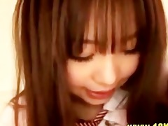 japanese schoolgirl sweetheart acquires fingered