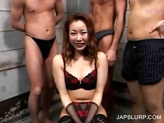 japanese doxy acquires mambos teased in foursome