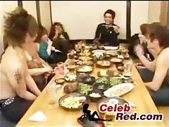 japanese drun sex party