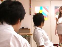 aarisa sawa is japanese teacher doxy part5