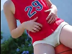 softcore sporty oriental tease
