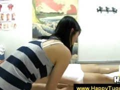 cook jerking and engulfing from oriental masseuse