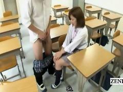 subtitled cfnm japanese schoolgirl cook jerking