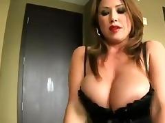 mommy seduces her step-son