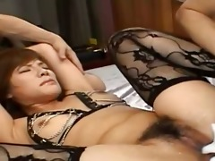 sexy oriental anal permeate with underware