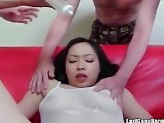 oriental aged bitch gang bang fellatio joy