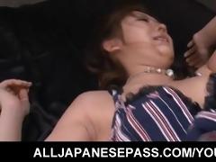 japanese karin tsubaki has her furry love tunnel