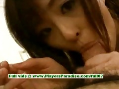 saori virginal pleasant oriental honey receives a