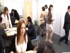 male japanese employees go nude at work