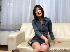 brunette japanese hoe has enjoyment chatting