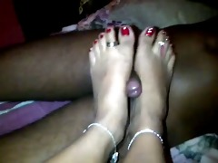 young indian feet