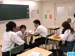 frisky japanese schoolgirl rui tsukimoto can rear