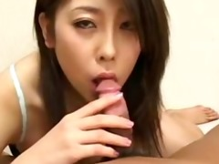 jap honey gives valuable oral job