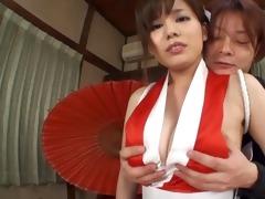 incredible oriental playgirl with giant marangos
