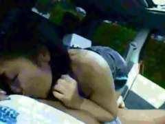 japanese oral-service in the car