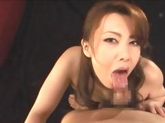 sensuous japanese schlong play engulf and cum