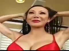 naughty oriental aged woman