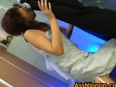 cute oriental model is enjoying her lad part5