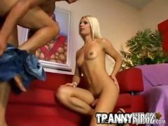 blond stunner thais sexy lady-boy sex