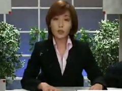 assian newsreader bukkake - humorous