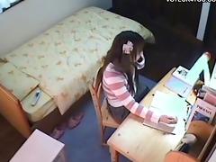 hidden camera below the table