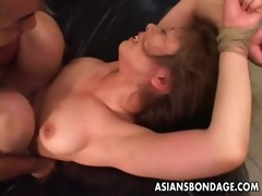 fastened up oriental sweetheart acquires drilled