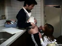 cooking time with riko katase