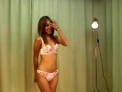 hot lingerie model try-out