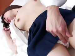 sinless looking miki has her curly snatch pounded