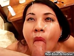 tatooed and percing asian engulf and fuck