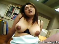 breasty japanese whore getting her vagina part2