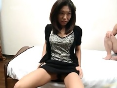 sexually excited oriental bimbo widens her legs