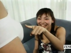 subtitled cfnm japan amateurs see cook jerking