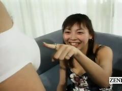 subtitled cfnm japan amateurs see cook jerking