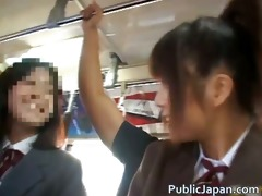 oriental hottie has public sex jav