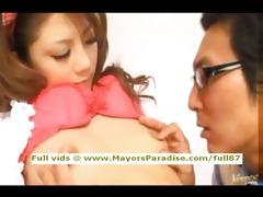 risa tsukino innocent chinese in school licked