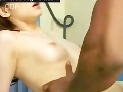 japanese daughter acquires butt drilled hard
