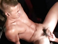 a hunky japanese suggests his dark hole