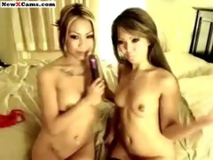 wicked oriental legal age teenagers in nylons
