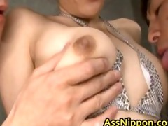 hawt oriental chick acquires twat and arsehole