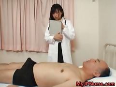 japanese doctor is sexually excited for ramrod