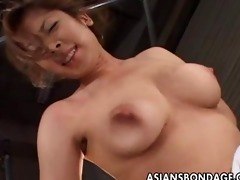 japanese playgirl receives a fishing hook in