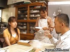 slutty japanese milfs engulfing and fucking part3