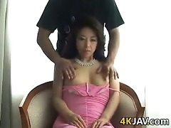 asian mother has her cunt played with