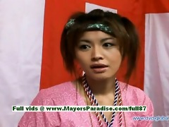 yuzuru japanese sinless chinese girl is talking