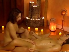 arousing fleshly pleasures with lingam massage