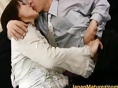 older real oriental woman getting part6