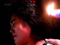 shy japanese sex villein acquires hawt wax leaked