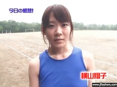 sexy japanese gal flashing and fucking clip-26