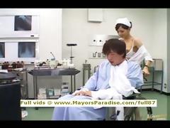 rio virginal chinese nurse enjoys doing cook